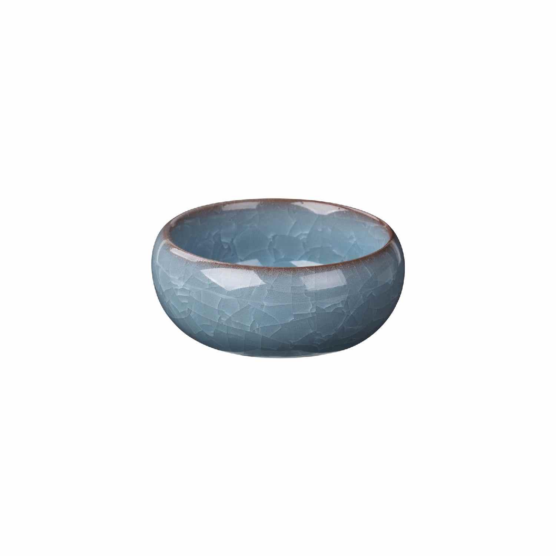 4er Set Teelichthalter `Ebba` aus Steingut